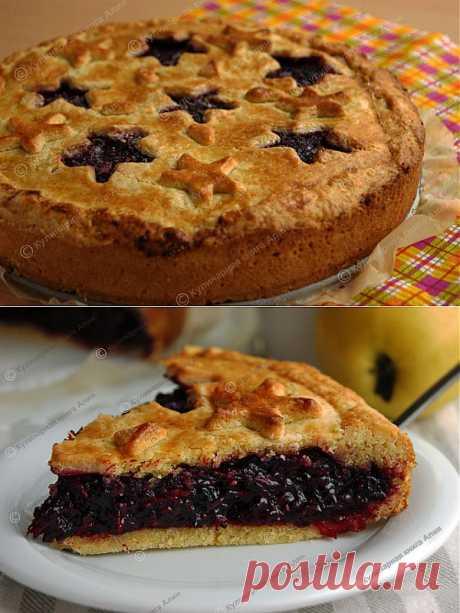 El pastel ideal de bayas. El autor Aliya.