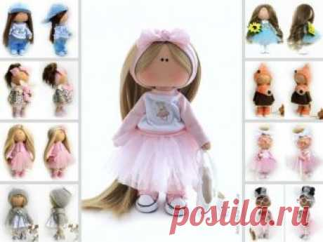 Portrait Art Doll, Baby Room Rag Doll, Nursery Fabric Doll, Tilda Cloth Doll Soft Pink Doll Textile Gift Doll Bambole di stoffa by Natalia P Hello, dear visitors!  This is handmade cloth doll created by Master Natalia P (Moscow, Russia). All dolls on the photo are mady by artist Natalia P. You can find them in our shop searching by artist name. Here are all dolls of artist Natalia P: