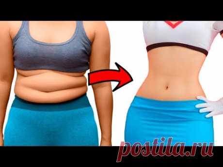 7 эффективных упражнений, чтобы быстро похудеть в домашних условиях! [Домашнее обучение]