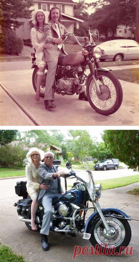 15супружеских пар воссоздали старые фото ипоказали, что любить одного человека всю жизнь— возможно