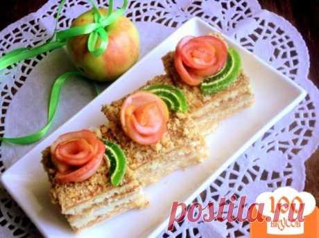 Яблочный пляцок - пошаговый рецепт с фото. Как приготовить.