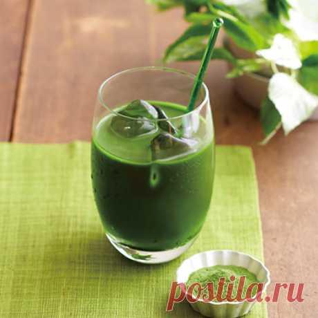 Аодзиру - напиток долгожителей. - Tsujimoto Market