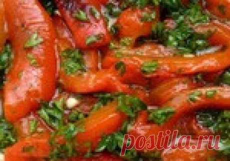Потрясающая заготовка на зиму-болгарский перец с чесноком