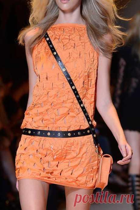И еще одно платьице на жару:-) / Прорези / Модный сайт о стильной переделке одежды и интерьера