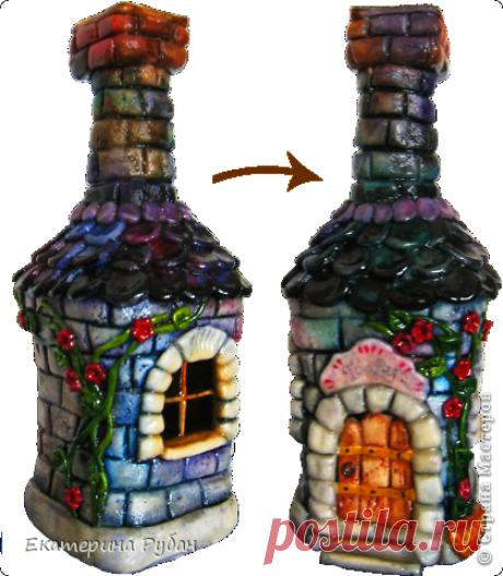 Декор бутылки | Страна Мастеров