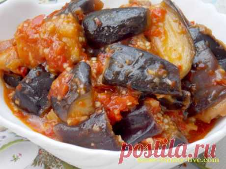 Ongeorgian \/ the Website with step-by-step recipes with a photo for those who likes to cook eggplants