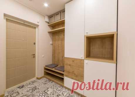 Дизайн интерьера трехкомнатной квартиры 77 кв. м. в ЖК «Отдых»
