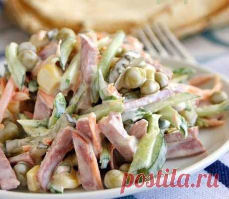 Как приготовить салат, который не нужно варить - рецепт, ингредиенты и фотографии