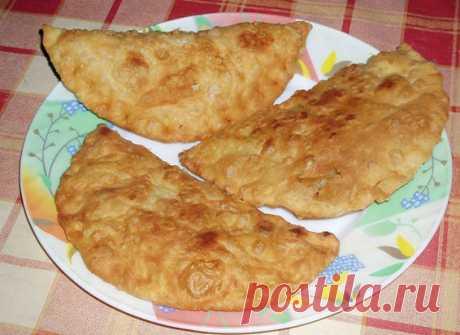 Чебуреки с картошкой – пошаговый рецепт теста и начинки