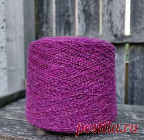 Soft Donegal tweed oдинарный, код 5526, 50 гр