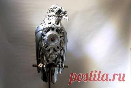 Металлические скульптуры Птолемея Элрингтона