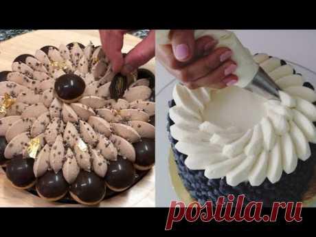 Торты||Эклюзивные идеи оформление тортов||Для милых дам.Exclusive ideas decorating cakes||For ladies