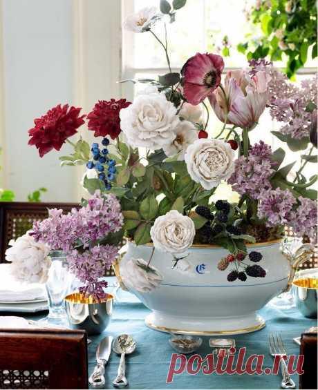 Фарфоровые цветы от Владимира Каневского