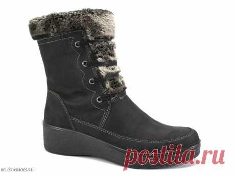 Полусапожки женские Марко 366042, нубук - женская обувь, полусапоги. Купить обувь Marko
