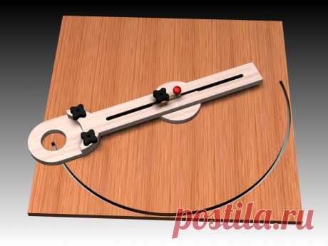 Circle Cutting Jig - Thermwood / eCabinet Systems
