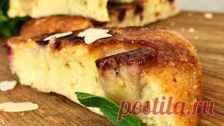 Пирог на сковородке. Очень нежный и вкусный | Простые рецепты от Нашей Кухни! | Яндекс Дзен