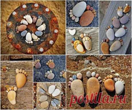 Поделки из камней своими руками — Сделай сам, идеи для творчества - DIY Ideas