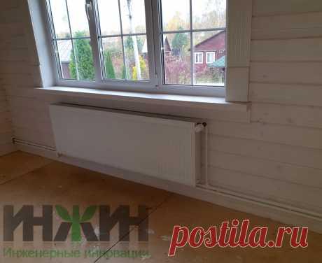 Монтаж отопления в деревянном доме, фото 804