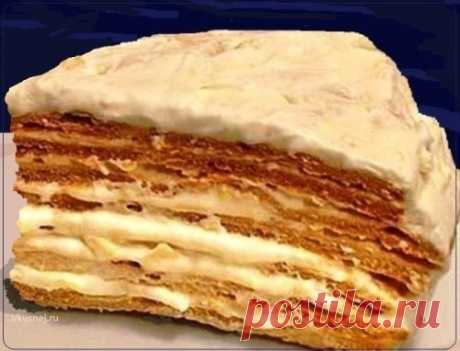 Торт Парижский коктейль   Рецепты вкусно