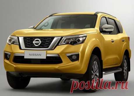 Рамный внедорожник Nissan Terra 2018 - цена, фото, технические характеристики, авто новинки 2018-2019 года