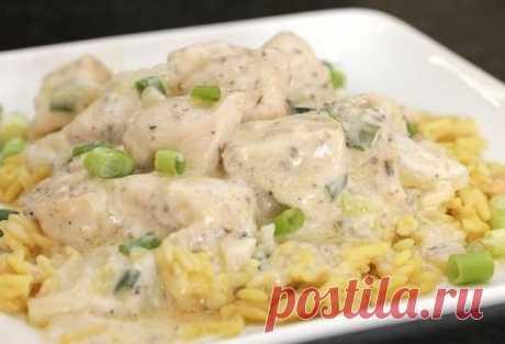 Курица в кефире: рецепт приготовления на сковороде