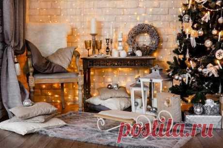 Как украсить комнату на Новый год: лучшие идеи новогоднего декора   Самое яркое и интересное   Яндекс Дзен