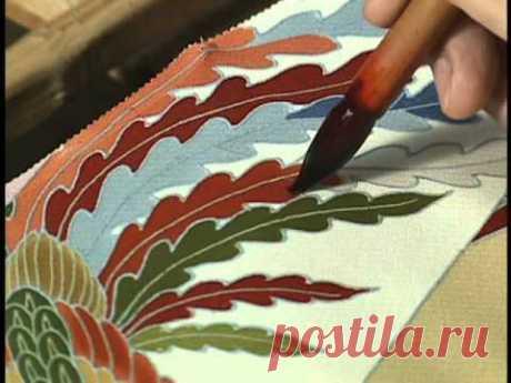 Создание кимоно (удивительная работа)