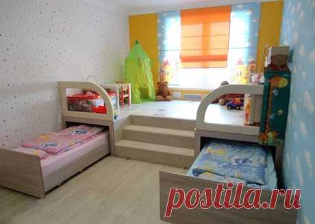 Практичная детская комната