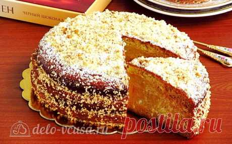 Торт «Александрия» со сметанным кремом пошаговый рецепт с фото
