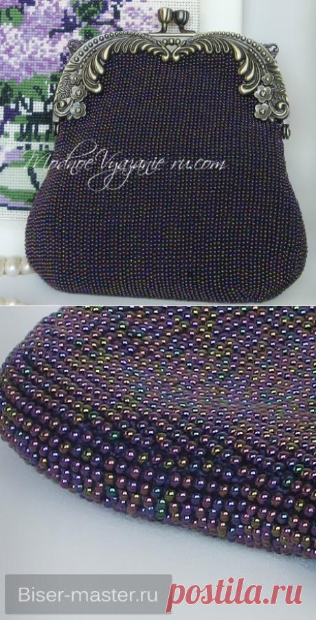 Как связать сумочку с бисером - Crochet - Modnoe Vyazanie
