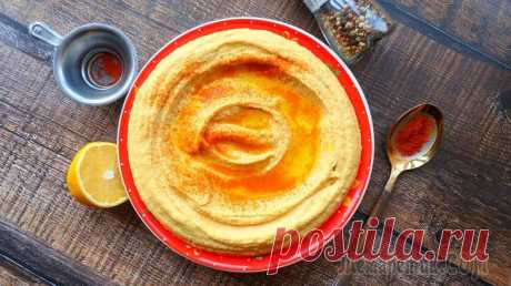 Хумус простой рецепт за 10 минут