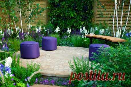 Как отгородить уголок отдыха на даче: идеи садовых ширм