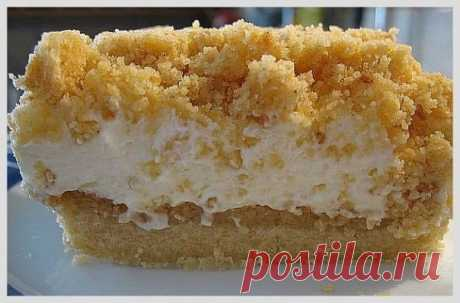 Неимоверно вкусный тортик (творожный)
