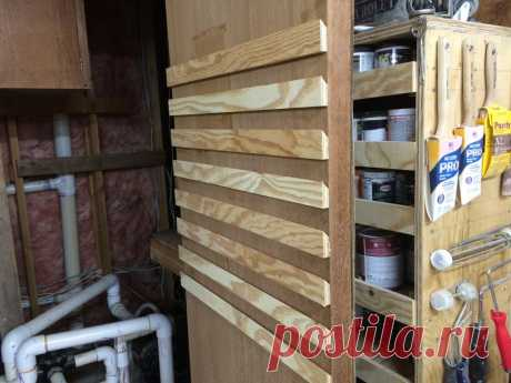DIY Hardware Organizer - Organize Your Shop and Hardware
