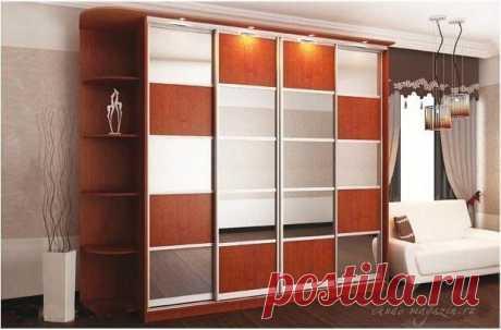 Огромный шкаф купе с зеркалом в спальню купить по цене 62 000 руб. в Москве— интернет магазин chudo-magazin.ru