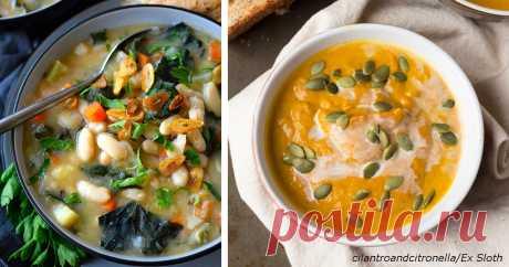 Если вы хотите суп, но есть только 30 минут, вот 5 супер-быстрых рецептов  Насытят и освежат.  Не зря у нас заведено готовить на обед суп. Он не только хорошо насыщает, но и восстанавливает водный баланс. Благодаря супу можно избежать множества болезней: гастрита, колита, х…