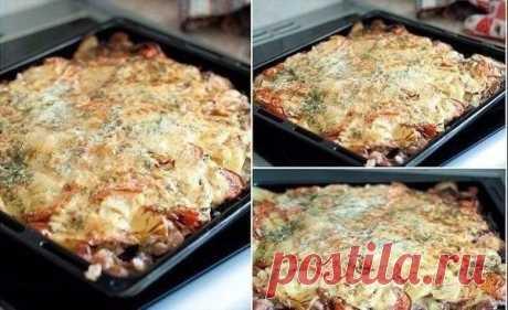 СЕКРЕТНОЕ ОРУЖИЕ ЖЕНЩИНЫ: Слоеная картошка На все случаи жизни / Здоровый аппетит