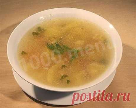 Картофельный суп на бараньем бульоне с тархуном рецепт с фото - 1000.menu