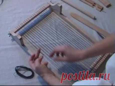 Ткацкая рама 30см - инструкция