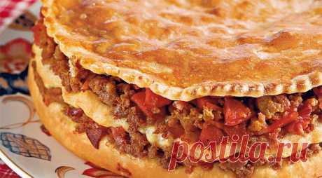 Португальский мясной пирог, пошаговый рецепт с фото