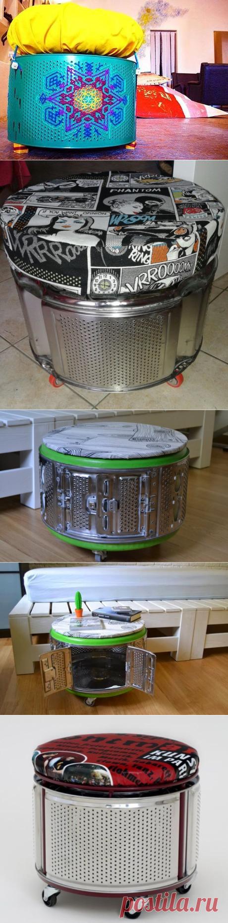 Применение барабана от старой стиральной машины