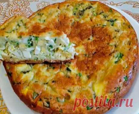 Заливной пирог с рисом и яйцом – очень быстро и фантастически вкусно | Вкусняшки | Яндекс Дзен
