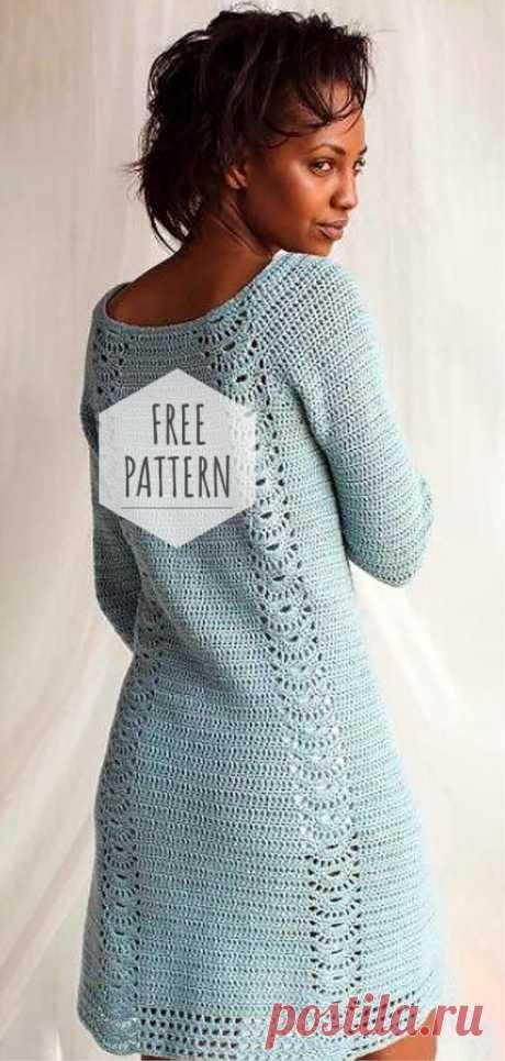 Crochet Nice Dress Free Pattern