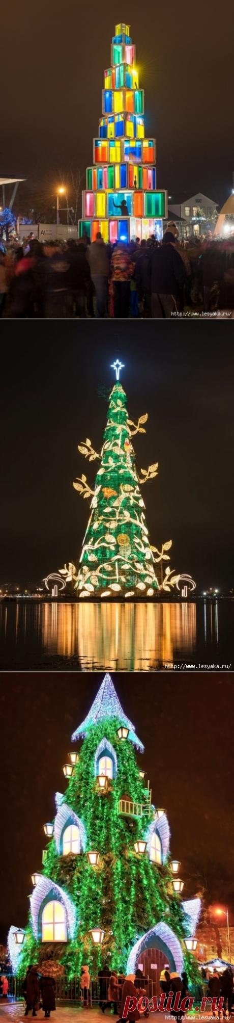 Новогодние елки, от красоты которых замирает сердце!