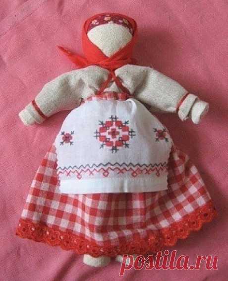 Очистительная кукла По традиции, очистительная кукла избавляла от «плохой» энергетики в доме.