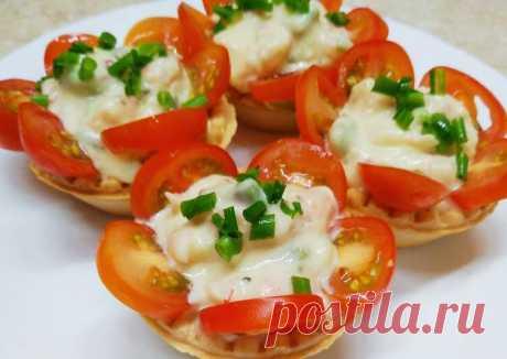 (6) Тарталетки с креветками - пошаговый рецепт с фото. Автор рецепта Надежда Махрова 🏃♂️ . - Cookpad
