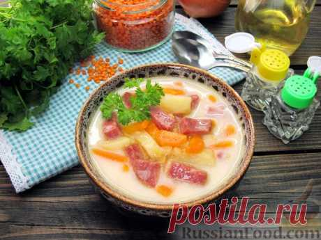 Суп сырный - лучшие рецепты месяца