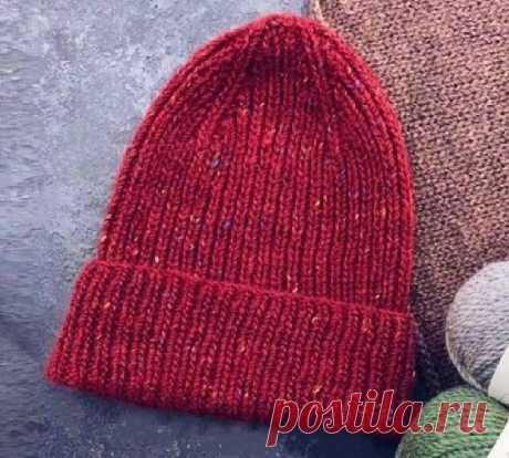3 универсальные стильные шапки спицами (с описанием) | Идеи рукоделия | Яндекс Дзен