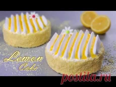 레몬 파운드 케이크 / Fluffy Soft Lemon Cake Recipe / Making lemon jam / Torta al limone