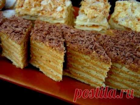 Торт «Микадо» (армянский рецепт) : Торты, пирожные